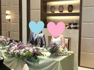 新郎新婦より結婚式の嬉しいご報告がありました!