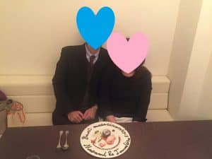 成婚カップル画像