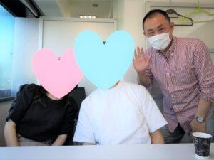 横浜市ご在住 Wさん(41歳/男性)コロナ禍のなか埼玉県ご在住の30代女性とゴールイン